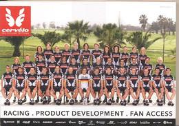 Cyclisme, Serie Cervélo Hommes Et Femmes, Complet, 2010 - Cycling
