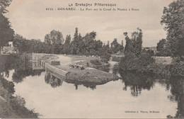 N°7434 R -cpa Gouarec -le Port Sur Le Canal De Nantes à Brest- - Gouarec
