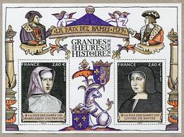France 5357/5358 2019 Feuillet Histoire La Paix Des Dames Neuf ** TB MNH Sin Charnela - Unused Stamps
