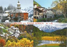 (SO) PASSO APRICA, MULTIVEDUTA - Cartolina Nuova, Saluti - Unclassified