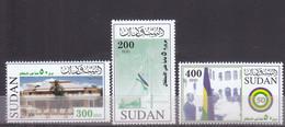 Stamps SUDAN 2006 SC 588 590 INDEPENDENCE 50 ANNIV, MNH SET CV$14 # 53 - Soudan (1954-...)