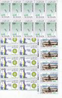 Stamps SUDAN 2006 SC 588 590 INDEPENDENCE 50 ANNIV, LOT X10 MNH SETS # 53 - Soedan (1954-...)