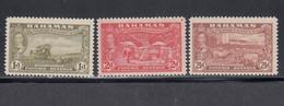 Bahama, Scott #133, 135-136, Mint Hinged, Scenes Of Bahama, Issued 1948 - 1859-1963 Kronenkolonie