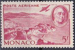Monaco Poste Aérienne 1946 YT 19 Neuf - Aéreo