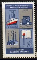 Zanzibar 1966  Single 20c Stamp Issued To Mark The 2nd Anniversary Of The Revolution. - Zanzibar (1963-1968)