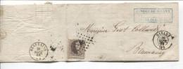 REF2136/ TP 14 S/LAC Banque De Dinant LPTS 96 C.Dinant 20/9/64 > Beauraing C.d'arrivée - Postmarks - Points
