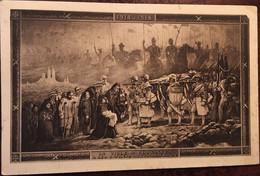 Cpa 1914-1918, Militaria, Coutances ( 50, Manche), Fresque à La Mémoire Des Morts De La Guerre, Hôtel De Ville Coutances - Coutances