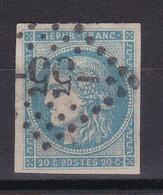 D228 / LOT BORDEAUX N° 45B OBL COTE 100€ - 1870 Bordeaux Printing