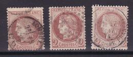 D228 / LOT CERES N° 51 OBL COTE 45€ - 1871-1875 Cérès