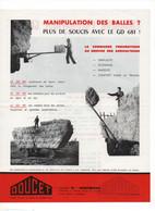 MO2 Prospectus Matériel Agricole Chargeur Pneumatique DOUCET Matériel Agriculture à Montmirail Et Charmoy - Agricoltura