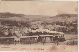 CPA  52   NOGENT EN BASSIGNY  TRAIN   VUE PANORAMIQUE DE NOGENT LE ROI - Nogent-en-Bassigny