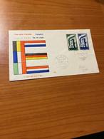 EUROPA - FDC  1956 - 6. 1946-.. Republic