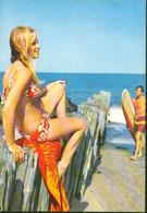 Beautiful Lady In Bikini Printed In Italy - Mode