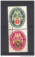 Allemagne  -  Reich  -  Se Tenant  :  Mi  S 68  (o) - Zusammendrucke