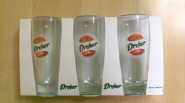Confezione Nuova Di 3 Biccheri Dreher - Verres