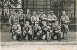 Carte-Photo : Portrait Militaires - Elèves Caporaux 152 RI - 27/11/1936  (BP) - War, Military