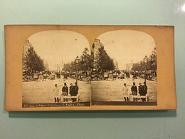 Photographie Stéréoscopique — 135 Rue De Lyon Et Colonne De Juillet - Paris - Stereoscoop