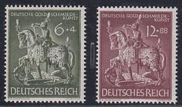 DR  860-861, Postfrisch **, Goldschmiedekunst, 1943 - Germania
