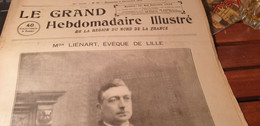 GRAND NORD 28/ MGR LIENART LILLE/FOOT ROUBAIX ARMENTIERES VALENCIENNES LILLE CRITERIUM CROSS / AVICULTURE /MGR QUILLIET - 1900 - 1949