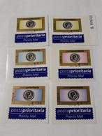 Italia 2003 POSTA PRIORITARIA N.6 VALORI 2764/69 AUTOADESIVO  MNH ** - - 2001-10:  Nuevos