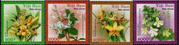 Vietnam 2008, Flowers, MNH Stamps Set - Vietnam