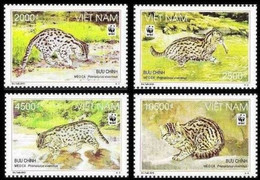 Vietnam 2010, WWF - Fish Cat, MNH Stamps Set - Vietnam