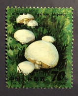 CHINE CHINA 1981 - Champignons Mushroom - 70 F Used - Mi. 1723 - Cf Scan - Gebraucht