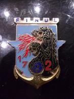 Insigne 17° Régiment De Génie Parachutiste - 2° Cie - FINUL 82 - Liban - Hueste