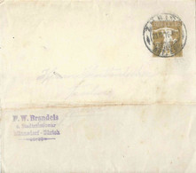 "Streifband 26  ""Brandeis, Stadtmissionar, Männedorf Zürich""        1910 - Interi Postali"
