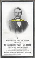 Leroy Jean Baptiste ( Leers-Nord 1862/1915 ) - Esquela