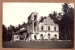 Ancienne / Old Carte Postale CPA MALACCA St. Peter's Church Melaka PHOTO Postcard Singapore Malaysia Malay FMS - Malaysia