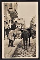 ISTANBUL CONSTANTINOPLE VENDEUR DU PAIN FOTO ANSICHTSKARTE 1925 - Türkei