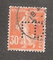 Perfin/perforé/lochung France No 141 L.D.C Louis Dreyfus Et Cie - Perforés
