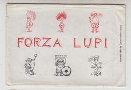 Roma, #  FORZA LUPI, 1983  #  N. 6 Cartoline - Carucci Editore # 14 X10,5 - Zonder Classificatie