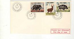 Cambodge (1967)-   Faune  - Enveloppe Premier Jour - Cambogia