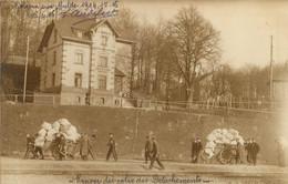 GOLZERN MULDE CAMP DE PRISONNIERS DE GUERRE CARTE PHOTO 1916 RENVOI DES COLIS DES DETACHEMENTS - Weltkrieg 1914-18