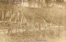 GOLZERN MULDE CAMP DE PRISONNIERS DE GUERRE CARTE PHOTO 1916 DE LA GARE AU CAMP 800 METRES DE ROUTE - Weltkrieg 1914-18