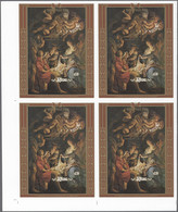 Thematik: Weihnachten / Christmas: 1988, NIUE: Christmas RUBENS Painting Miniature Sheet In An IMPER - Christmas