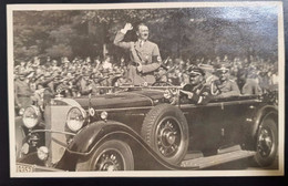 HITLER On HIS MERCEDES - Guerra 1939-45
