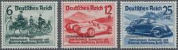 Deutsches Reich - 3. Reich: 1939, 'Nürburgring-Rennen' Komplett, Tadellos Postfrisch Und Unsigniert, - Germania