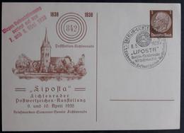 """DR Privatganzsache PP 122 C82-02 Mit Sonderstempel """"Liposta"""", Gummistempelaufdruck (1895) - Postwaardestukken"""