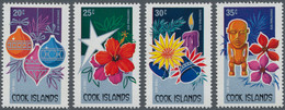 Thematik: Weihnachten / Christmas: 1979, COOK ISLANDS: Christmas Complete Set Of The Four Airmail St - Christmas