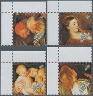 Thematik: Weihnachten / Christmas: 1989, COOK ISLANDS: Christmas Complete Set Of Four With Different - Christmas