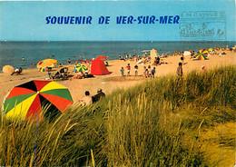 14 - Ver Sur Mer - La Plage - Scènes De Plage - CPM - Voir Scans Recto-Verso - Andere Gemeenten