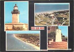 14 - Ver Sur Mer - Multivues - Phare - CPM - Voir Scans Recto-Verso - Andere Gemeenten