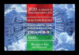 Hungary 2020 Mih. 6148 (Bl.443) World War I. Peace Treaty Of Trianon MNH ** - Ongebruikt