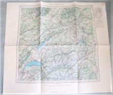 Carte I.G.N. : MULHOUSE / GENEVE - 1 / 500 000ème - 1943. - Carte Geographique