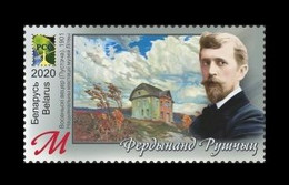 Belarus 2020 Mih. 1392 Painter Ferdynand Ruszczyc. Space (RCC Joint Issue) MNH ** - Wit-Rusland