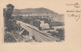 ONEGLIA-IMPERIA-PANORAMA-CARTOLINA VIAGGIATA IL 5-3-1901 - Imperia