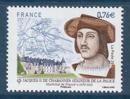 FRANCE 2015 Jacques II De Chabannes/Jacques De La Palice: Single Stamp UM/MNH - Francia